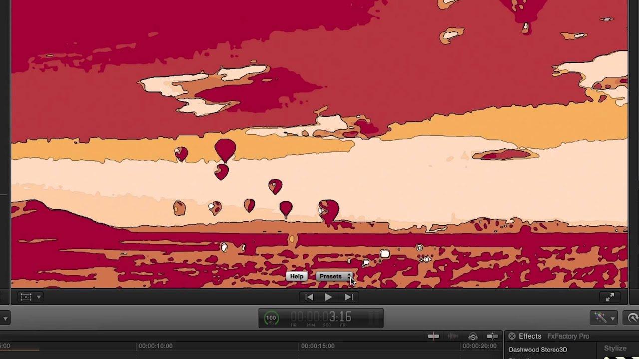 Fcpx cartoon plugin