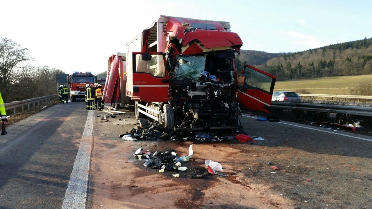 Unfall Auf A44