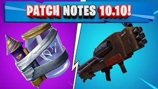 PATCH HINWEISE 10.10 FORTNITE! NEUE JOLLY CONSUMABLE! NEUE SCRAP SLIT!