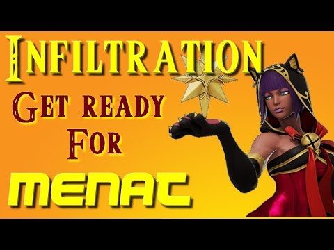 INFILTRATION is back online, GET READY for his MENAT - SFV Long Compilation Master