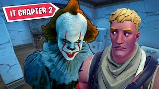 FORTNITE x IT CHAPTER 2 EVENT HAS STARTED! PENNYWISE SKIN, EMOTE, GLIDER BUNDLE