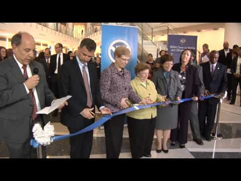 NOAA Center for Weather and Climate Prediction Ribbon Cutting Ceremony