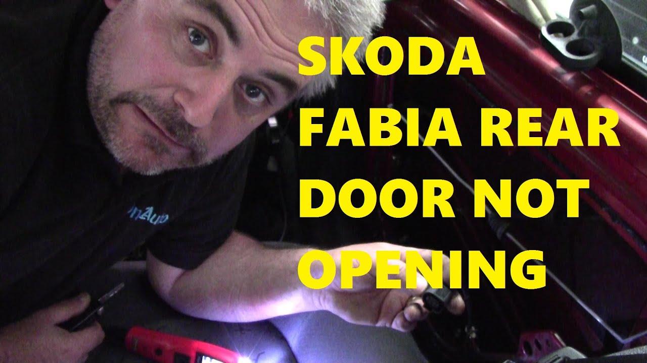 2003 Skoda Fabia Rear Door Not Opening Youtube 1 9 Sdi Fuse Box