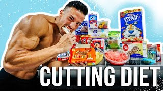 FULL DAY OF EATING WHILE CUTTING!!! | MEN'S PHYSIQUE COMPETITOR | 20 DAYS OUT FROM SHOW