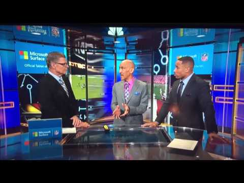 Rodney Harrison calls out Fisher for being dirty