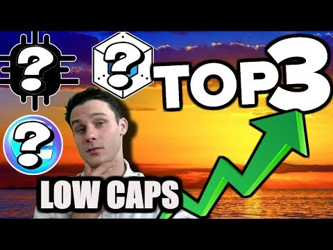 Get RICH 🤑 Next BULL RUN-TOP 3 COINS!!! Low Market Cap, High