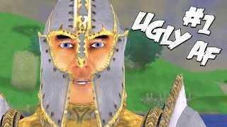 Oblivion But The Lowest Graphical Quality - Let's Play #1