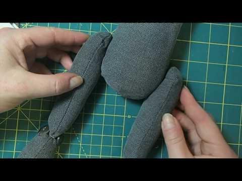Creating The Basic Agosia Arts Cloth Doll Body