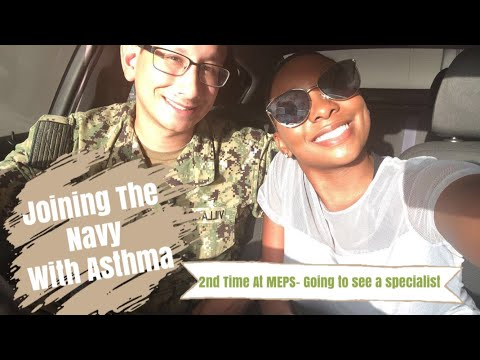 JOINING THE MILITARY WITH ASTHMA║ GOING TO SEE A SPECIALIST ║ FULL DETAIL