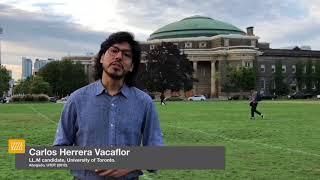 Testimonios de Graduados | Carlos Herrera Vacaflor