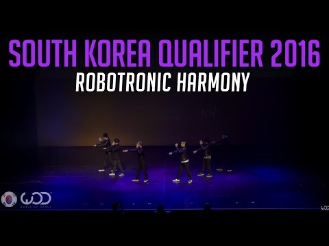 ROBOTRONIC HARMONY | Upper Division | World of Dance South Korea Qualifier 2016 | #WODKOR16