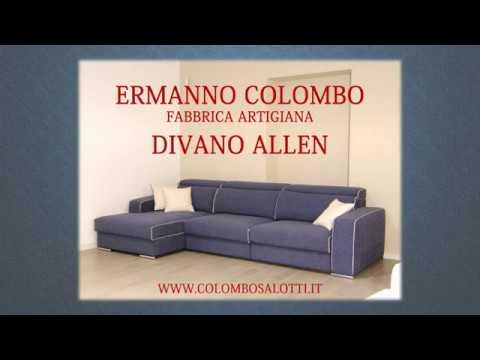 Divano componibile artigianale | Colombo Salotti - YouTube