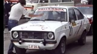 Tassigny - Villance: Ford Escort MK2 RS - Ath Rally 1987