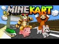 MineKart: No Mods Server! (Mario Kart Minecraft Map Minigame)