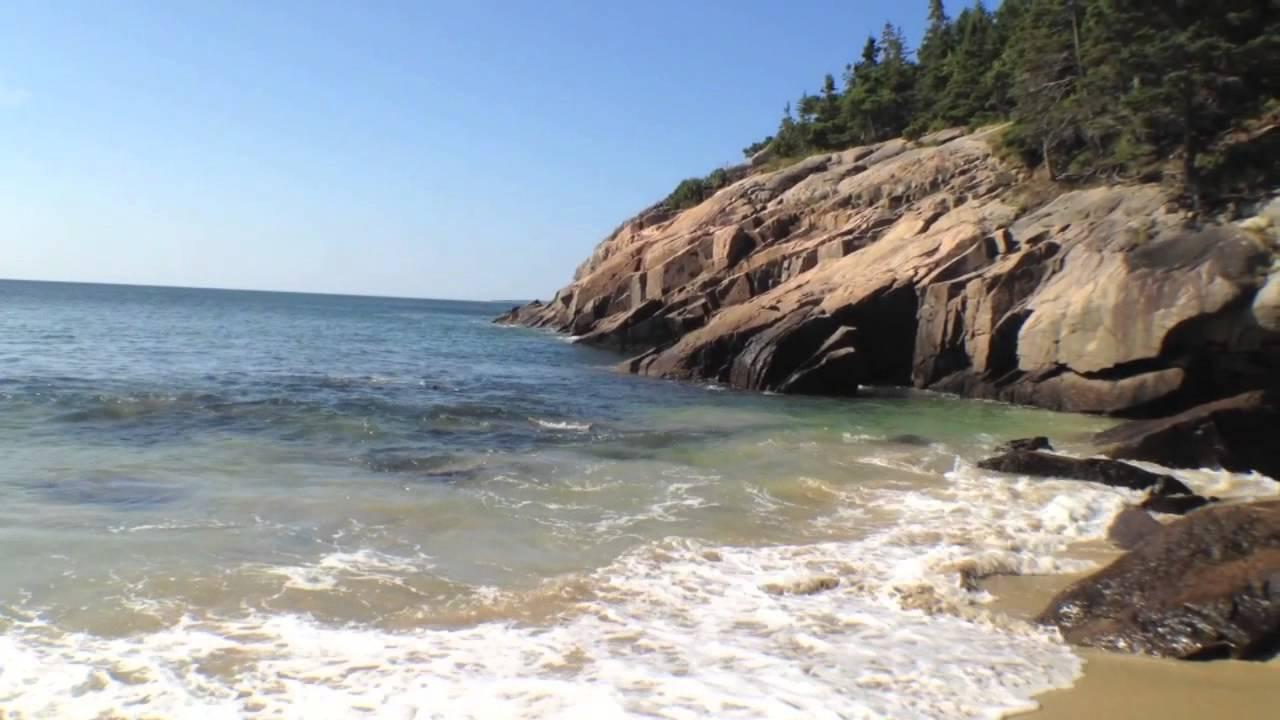 Sand Beach Acadia National Park You
