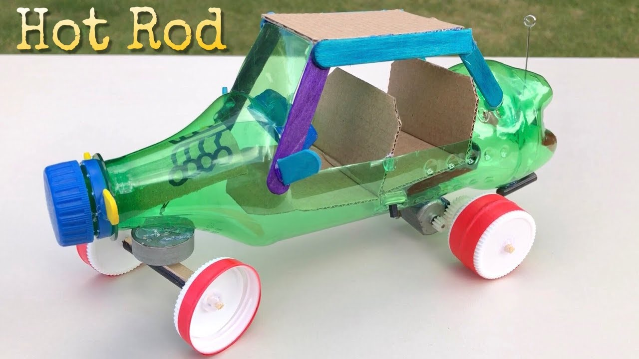 RC Car Out Of Plastic Bottle