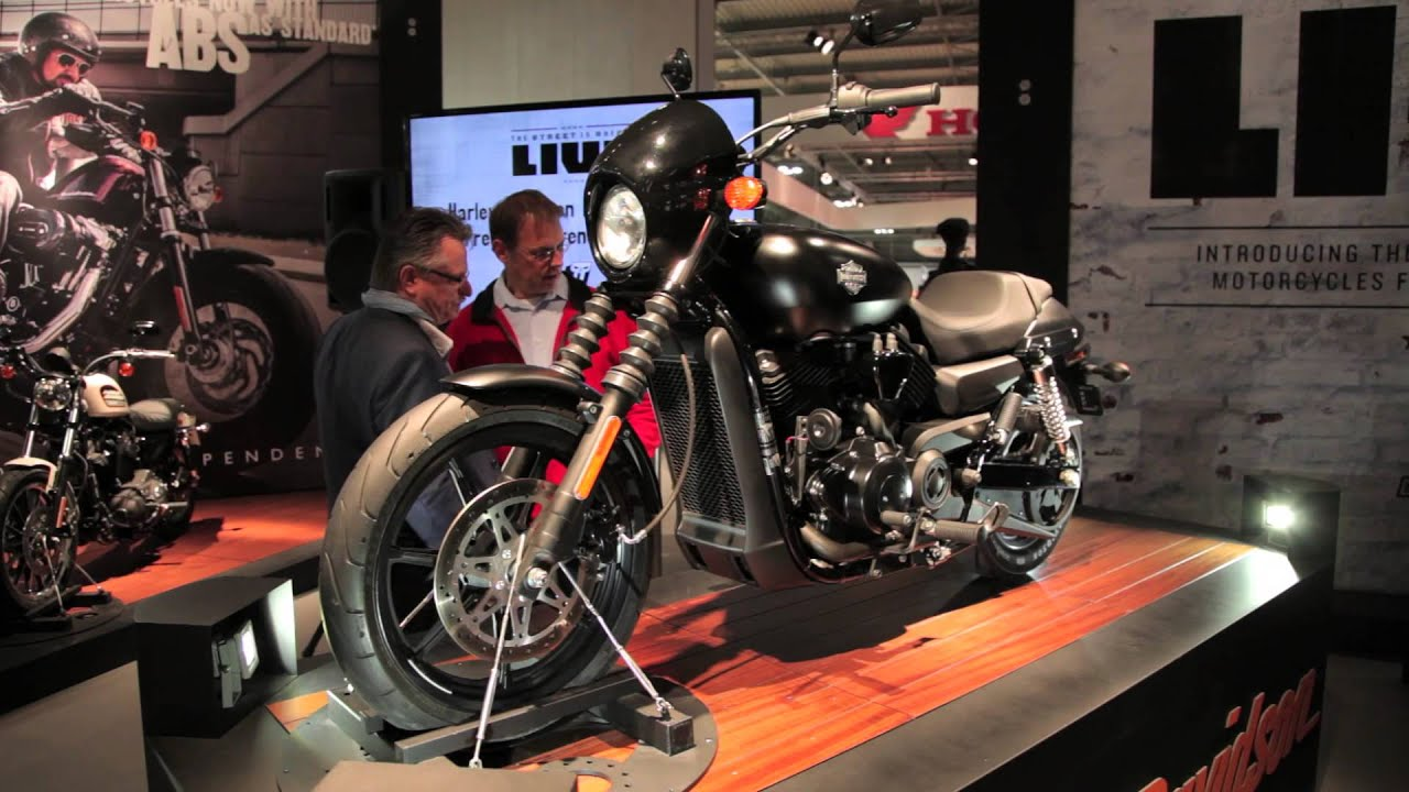 Harley Street 500 >> 2014 Harley Davidson Street 750cc and 500cc - EICMA 2013 ...