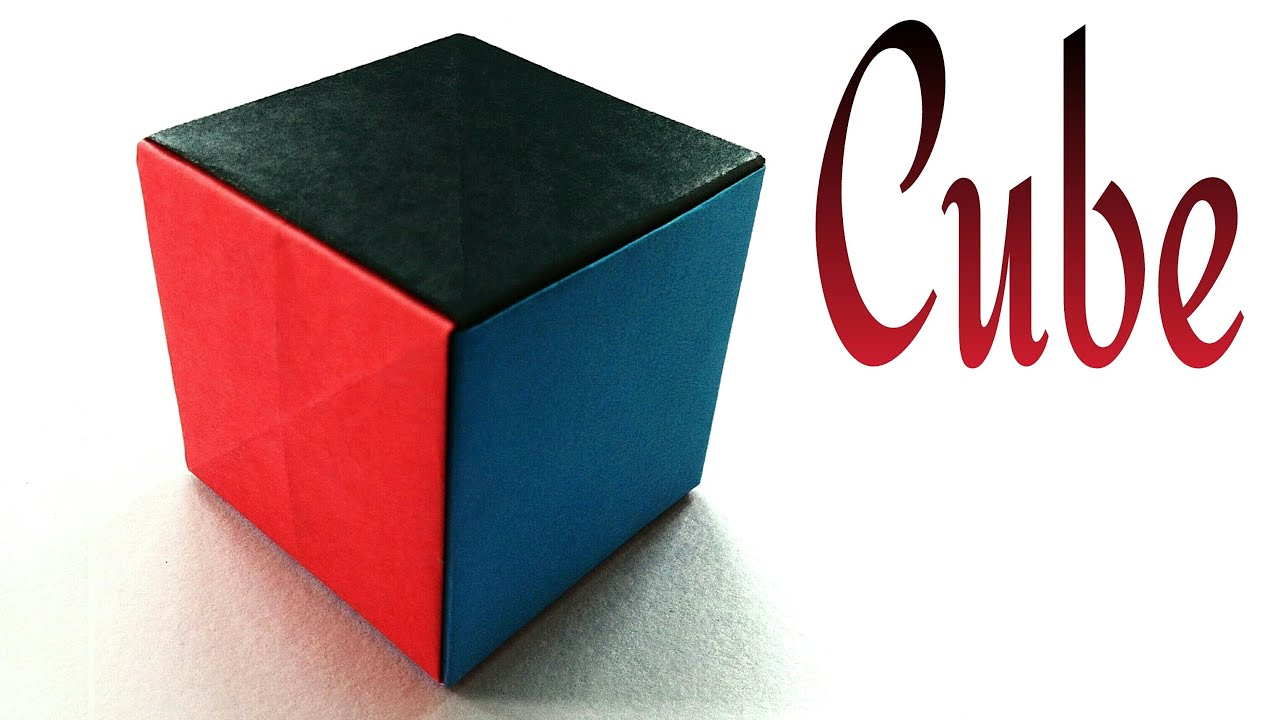 Simple paper cube very easy anyone can do diy tutorial by simple paper cube very easy anyone can do diy tutorial by paper folds youtube jeuxipadfo Image collections