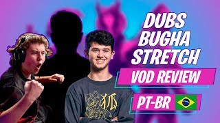Fortnite VOD Review Trio - Bugha Dubs e Stretch PT-BR