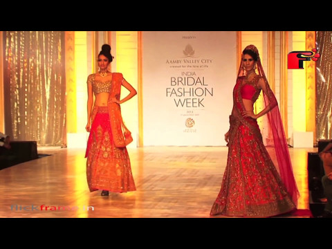 Finale of Indian Bridal Fashion Week 2013