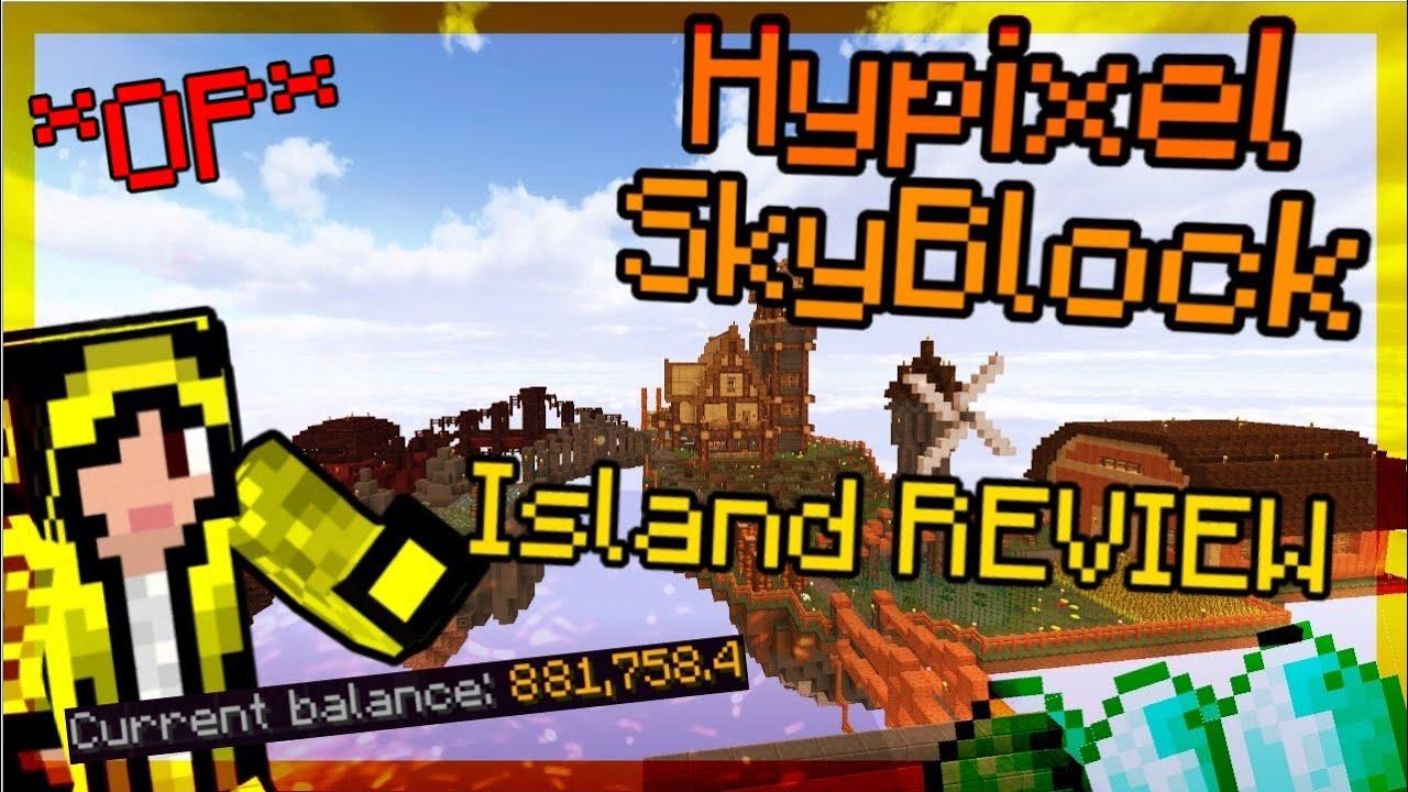 Idyllic Skyblock Island   Hypixel - Minecraft Server and Maps
