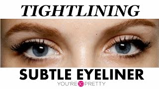 Beauty Hacks | Tight Lining Subtle Eyeliner Technique | Makeup Tutorial Thumbnail