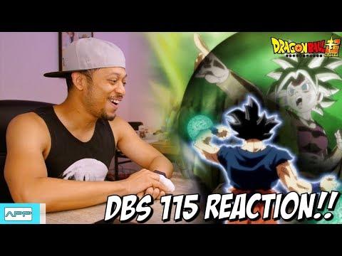 DBS 115 Ultra Instinct Returns Reaction!!
