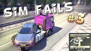 Simulation Games FAILS Compilation #3 (ETS2, ATS, OMSI2, BeamNG)