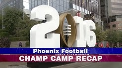City of Phoenix Championship Campus and College Football Playoff Events Recap