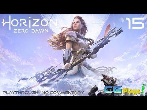 Horizon Zero Dawn Playthrough (No Commentary) #15 Exploration/First Bandit Camp