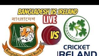 Bangladesh vs Ireland--Tri Nation Series--1st odi---2017--live