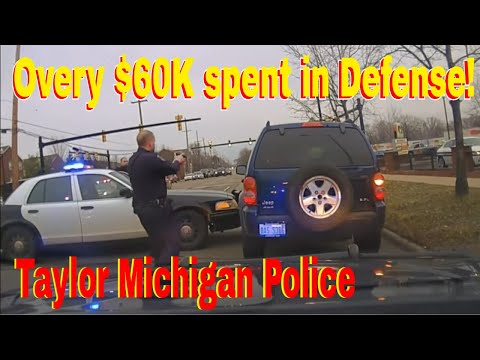 OVER $60,000.00 Spent on defense! Taylor Michigan Police Railroad this teen for Fleeing and eluding!