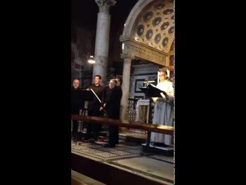 """Passione di Christo secondo Giovanni - Quartetto Polifonico """"Clemente Terni"""""""