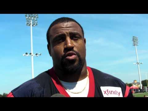 Texans Training Camp 2015 - Duane Brown