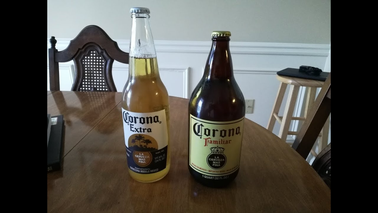The Mexican Standoff Corona Extra Vs Corona Familiar