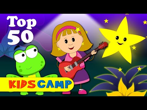 Top 50 Hit Songs Compilation  5 Little Speckled Frogs & Lots More  BEST Nursery Rhymes Collection