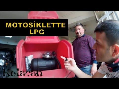 Motosiklette LPG dönüşüm sistemi incelemesi | Motora tüp takmak
