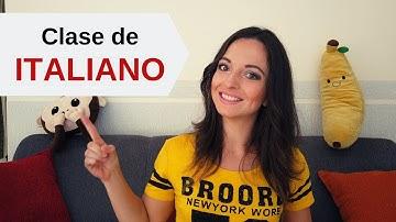 Clase de italiano básico para principiantes   aprender idiomas
