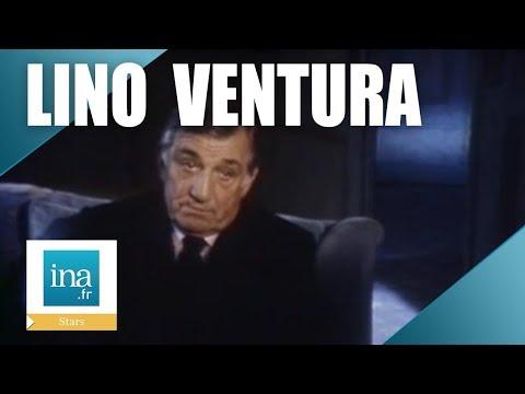 Lino Ventura parle de son métier d'acteur | Archive INA