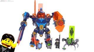 LEGO NEXO Knights Tech Wizard Showdown review! 72004