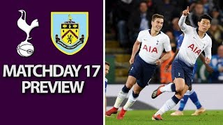 Tottenham v. Burnley | PREMIER LEAGUE MATCH PREVIEW | 12/15/18 | NBC Sports