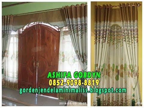 Model Gorden Pintu Kupu Tarung  model gorden pintu kupu tarung dan harganya jual gorden murah banjarnegara