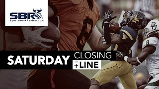 College Football Week 4 Picks, CFB Predictions, Game Previews, Betting Trends & Odds | Closing Line