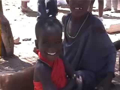 Samburu People Dancing
