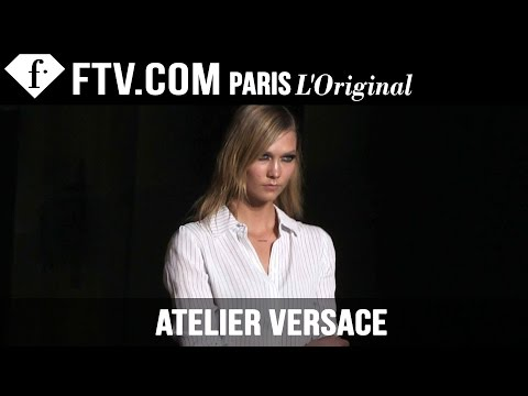 Atelier Versace Backstage Spring/Summer 2015 | Paris Couture Fashion Week | FashionTV