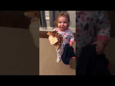 Tony Sandoval on The Breeze - Cute Baby Girl Eats Bread by the ARMFUL!!