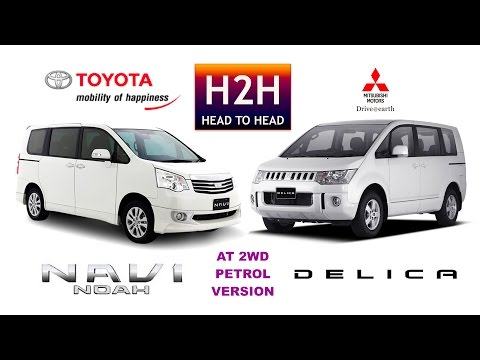 Head2Head 82 Mitsubishi DELICA vs Toyota NAV1