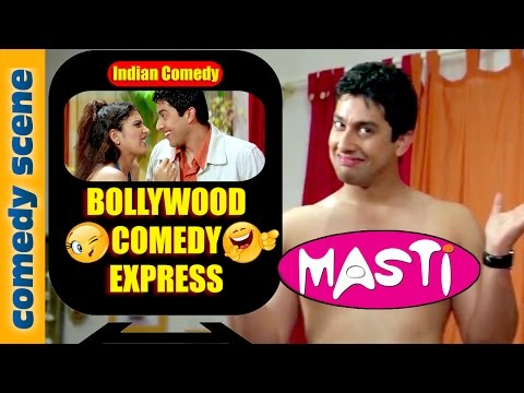 Aftab Shivdasani Best Comedy Scene - Bollywood Comedy Express - Masti - Indian Comedy