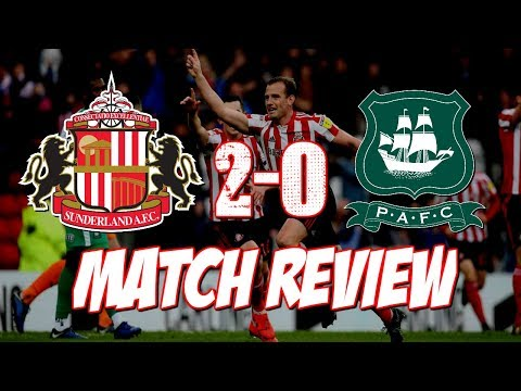 "SUNDERLAND VS PLYMOUTH MATCH REVIEW | ""LEE LEE LEE CATTERMOLE!"""