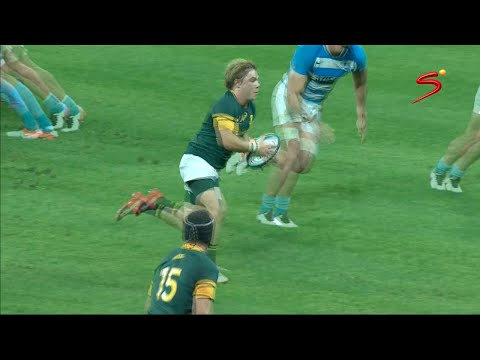 Faf de Klerk - Man of the Match - Springboks v Argentina